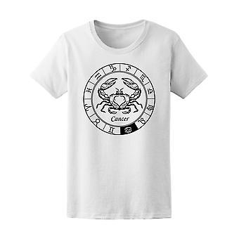 Krebs-Darstellung der Sternzeichen T-Shirt Männer-Bild von Shutterstock