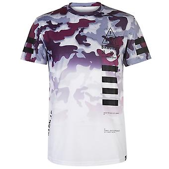 Fabric Mens Sublimation T Shirt Short Sleeve Crew Neck T-Shirt Tee Top
