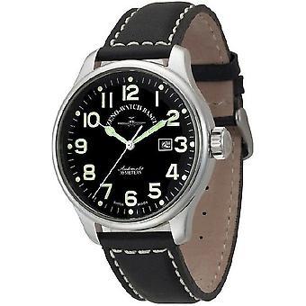 Zeno-watch reloj piloto gran tamaño automático 8554-pol-a1