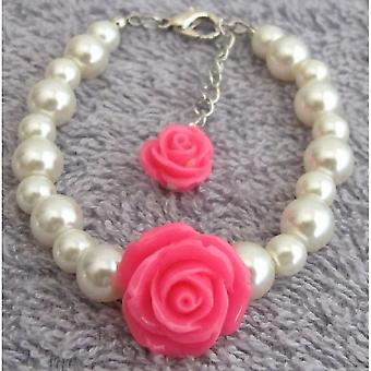 Children Flower Bracelet Cute Little Girl Bracelet Holidays Gift