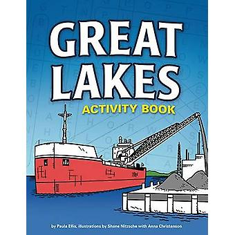 Great Lakes Activity Book by Paula Ellis - 9781591935261 Book