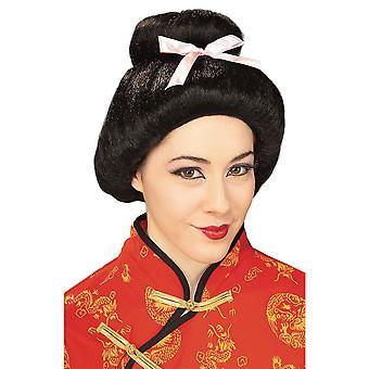 Geisha Japanese Oriental Asian Women Costume Wig