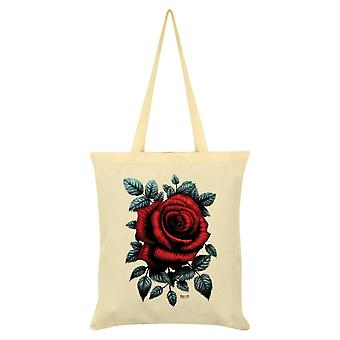 Requiem Collective Cardinal Rose Tote Bag