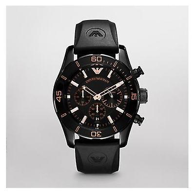 Emporio Armani Ar5946 - Black Sportivo Chronograph Mens Watch