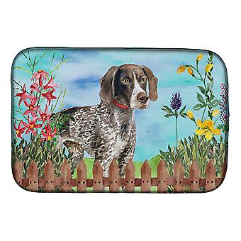 Carolines Treasures  CK1203DDM German Shorthaired Pointer Spring Dish Drying Mat