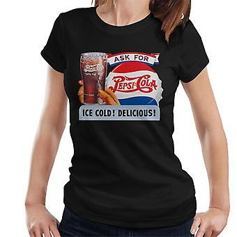 Pepsi Cola Ice Cold Delicious Women's T-Shirt