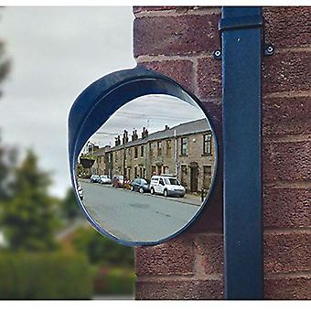 Streetwize Home Driveway Security 30cm Convex Single Round Blind Spot Mirror