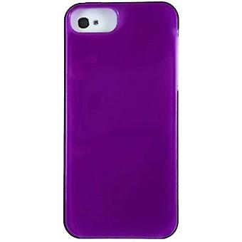 Verizon High Gloss silikonfodral för Apple iPhone 5/5s/SE-lila