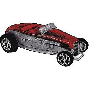 Patch - Automoblies - Red Roadster Iron On Gifts New Licensed p-3779