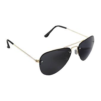 Men's sunglasses and Sunglasses Women's Pilot Polaroid - Gold/Black with free brillenkokerS312_1
