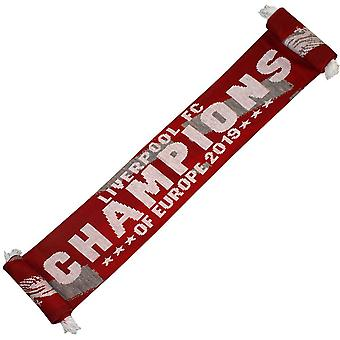 Liverpool FC Champions Of Europe Schal