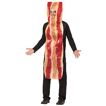 Adult Bacon Food Meat Novelty Funny Fancy Dress Costume