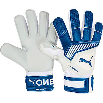 Puma One Grip Aqua Goalkeeper Gloves Size