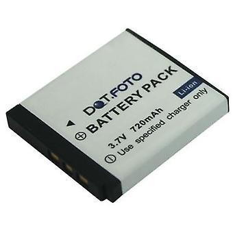 Dot.Foto Alba NP40 P/N VG0376122100009 vervangende batterij - 3.7V / 720mAh