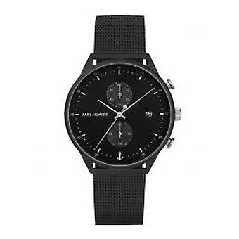 Paul Hewitt la ligne Chrono Black Sunray Black (PH-C-B-BSS-5M)