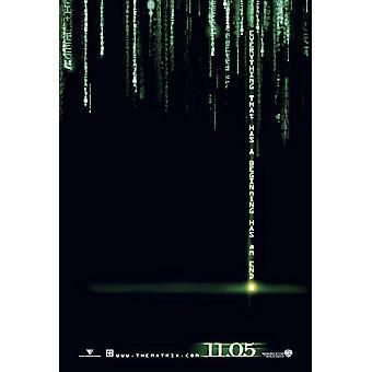 The Matrix Revolutions (Advance 3-D Foil) Original Cinema Poster