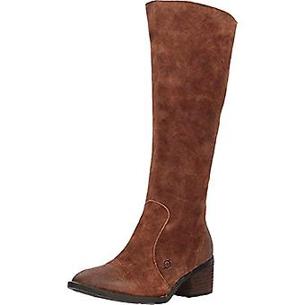 Born Felicia Rust Distressed Women's Pull-on Boots