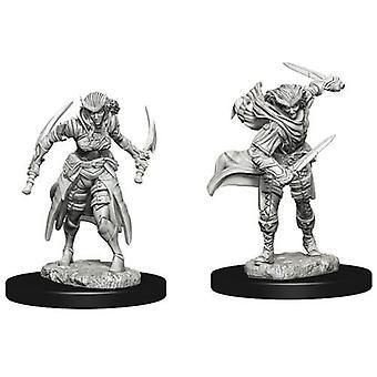 D&D Nolzur's Marvelous Unpainted Miniatures Tiefling Female Rogue (Pack of 6)