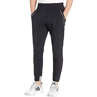 アディダス パフォーマンス メンズ バリケード テニス スポーツ トレーニング パンツ ズボン ブラック