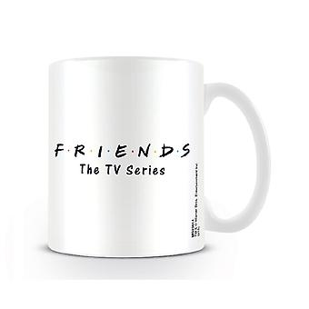 Friends Mug Classic Logo TV series new Official White
