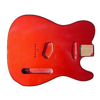Hosco Tele Body Metallic Red