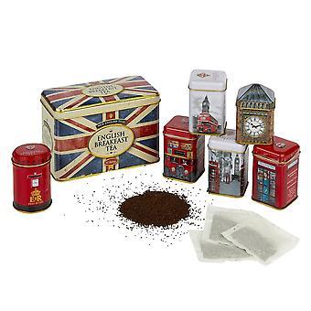 Best of british tea tin selection gift