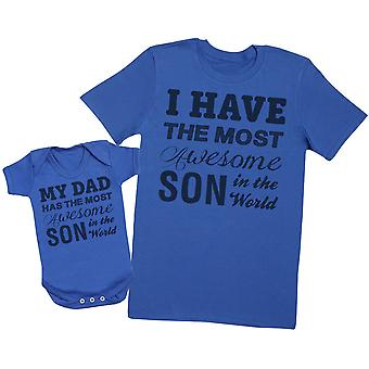 Most Awesome Son - Mens T Shirt & Baby Bodysuit