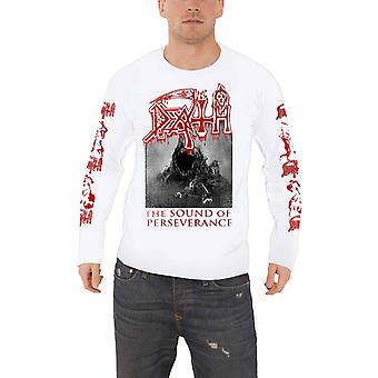 Death T Shirt The Sound Of Perseverance Band Logo new Official Mens Long Sleeve