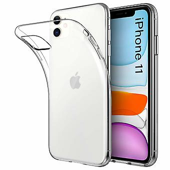 Transparent TPU shell +2pcs screen protection to iPhone 11
