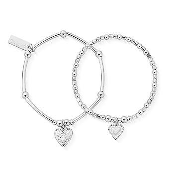 ChloBo CSBSET673398 Children's Compassion Set Of 2 Bracelets