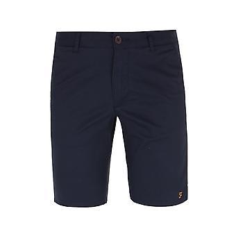 Farah Hawk True Navy Chino Shorts