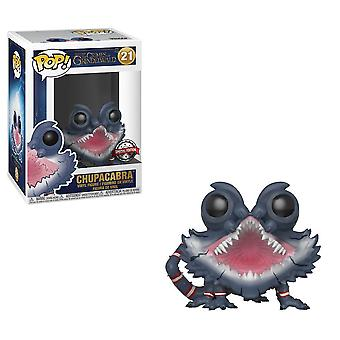 Fantastic beasts 2 - chupacabra open mouth us exclusive pop! vinyl figure