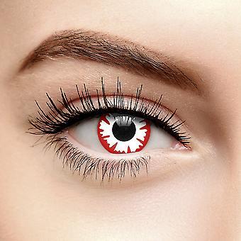Demon fargede kontaktlinser (daglig)