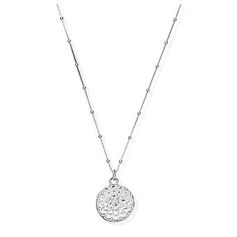 ChloBo Silver Moon Flower Necklace