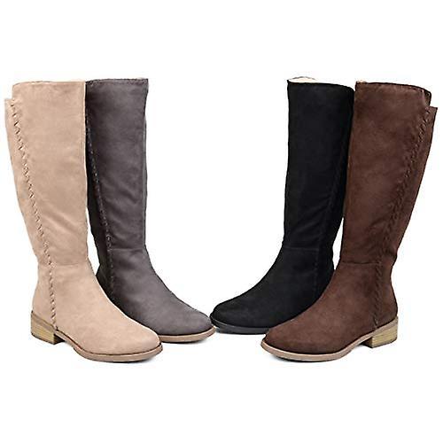 Brinley Co Comfort naisten Whipstitch Ratsastus kenkä musta, 6 säännöllinen US
