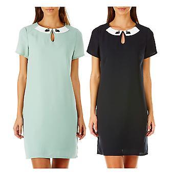 Sugarhill Boutique Women's Nala Swan Embroidery Tunic Dress