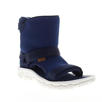 Teva Ugg Collab Hybrid Mens Blue Canvas Strap Casual Dress Boots Schoenen
