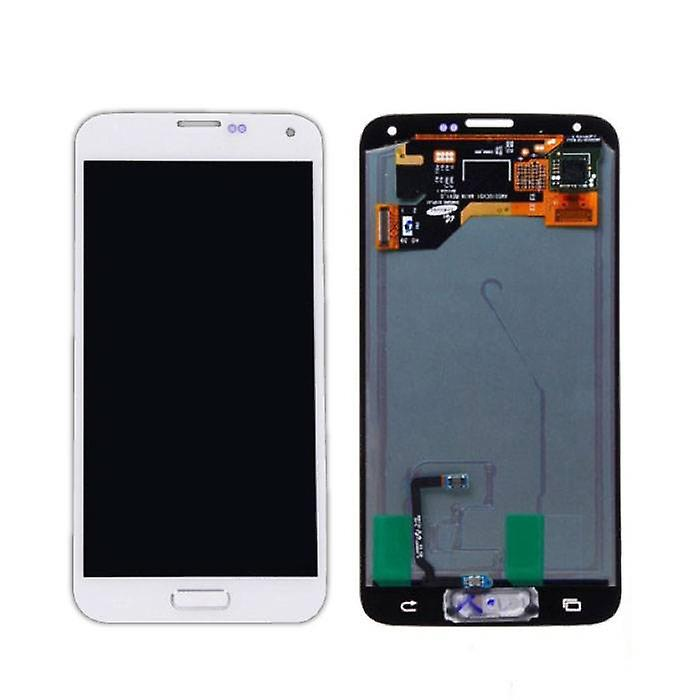 Stuff Certified® Samsung Galaxy S5 I9600 Screen (AMOLED + Touch Screen + Parts) A + Quality - Blue / Black / White