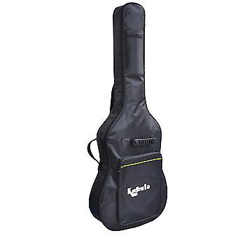 Kabalo - Universal schwarz akustische klassische voller Größe wasserdichte gepolsterte Gitarre Tasche Carry Case Gigbag Rucksack