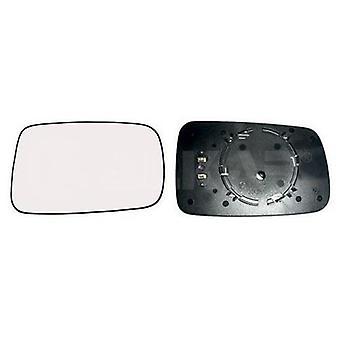 Right Chrome/Silver Mirror Glass (Heated) For BMW 7 Series (E65 E66) 2001-2008