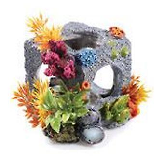 Klassiker för husdjur små kubiska Habitat 2st (fisk, dekoration, prydnadsföremål)