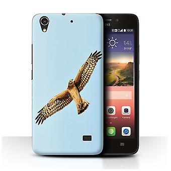 STUFF4 Fall/Abdeckung für Huawei Ascend G620S/Hen Harrier/Birds of Prey