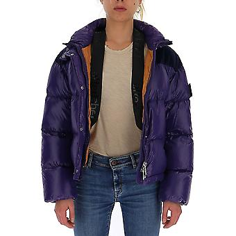 After Label Al033590 Women's Purple Polyester Down Jacket