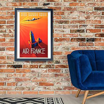 Air France Poster Print Giclee