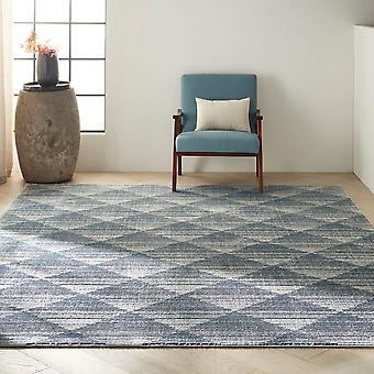 CK900 Pacific CK903 Navy Grey  Rectangle Rugs Modern Rugs