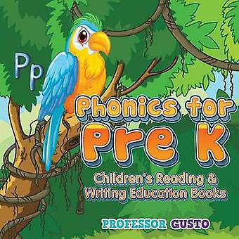 Phonics for Pre K  Childrens Reading  Writing Education Books by Gusto & Professor
