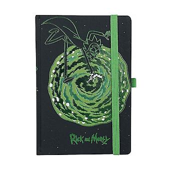 Rick and Morty, Notebook - Portals