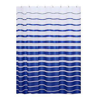 Shower curtain stripe waterproof