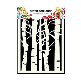 Dutch Doobadoo A5 Mask Art Stencil - Birch Trees #715045