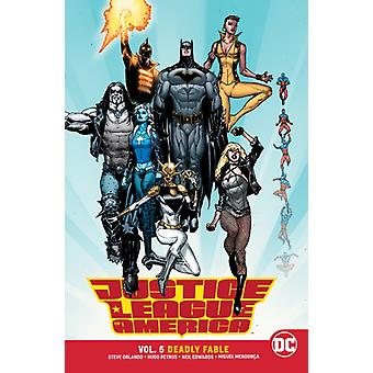 Justice League of America volume 5 van Steve Orlando